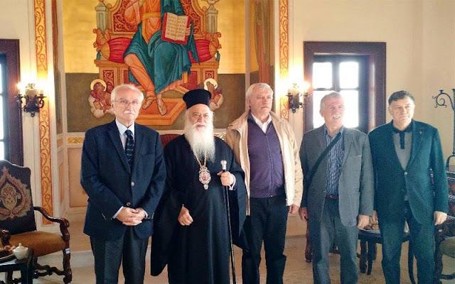 Επίσκεψη του Κυβερνήτη της Αγίας Πετρούπουλης στην Παναγία Σουμελά
