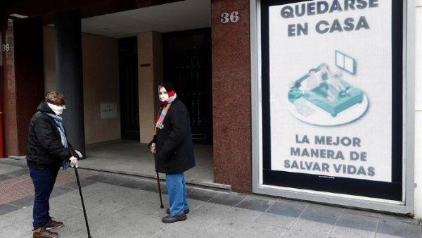 España reporta mil nuevos casos de coronavirus