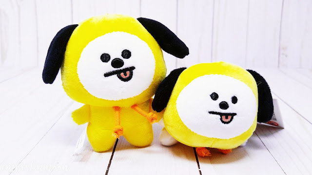 BT21 Chimmy Doll Keychain & Lying Plush Bag Charm