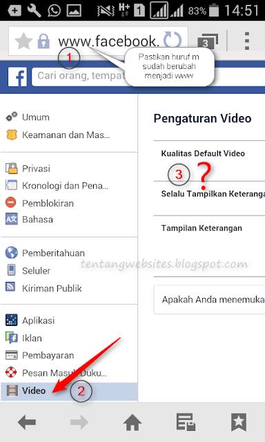 Cara mematikan autoplay video di facebook android