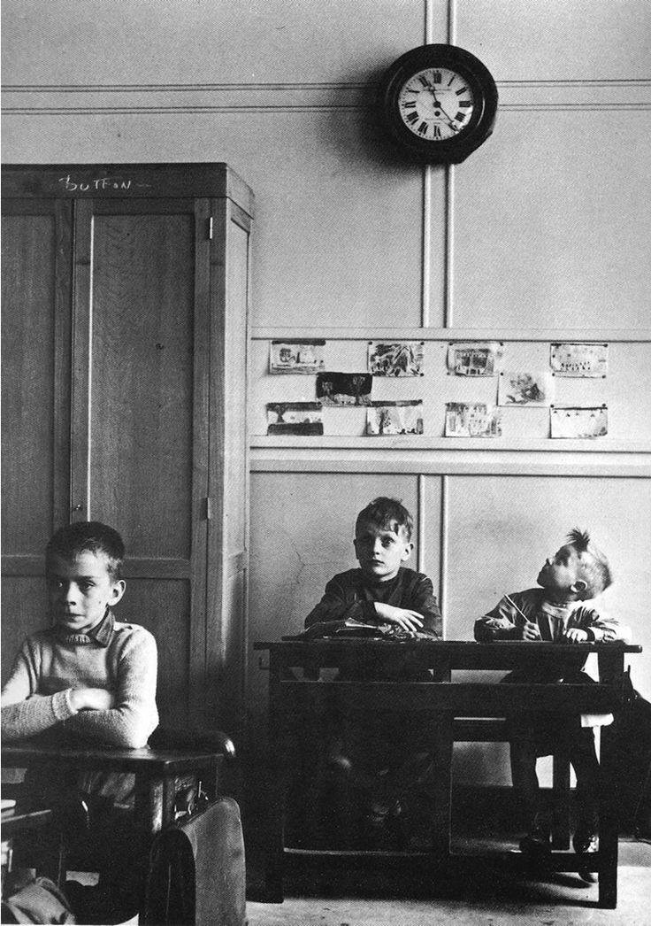 Robert Doisneau, Le cadern scolaire, 1956