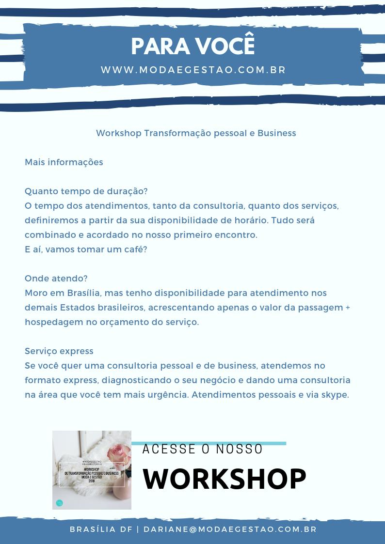 Serviços Moda e Gestão - Dariane Vale
