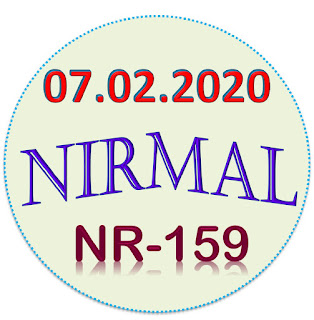 Kerala Lottery Result Nirmal Nr-159 dated 07.02.2020