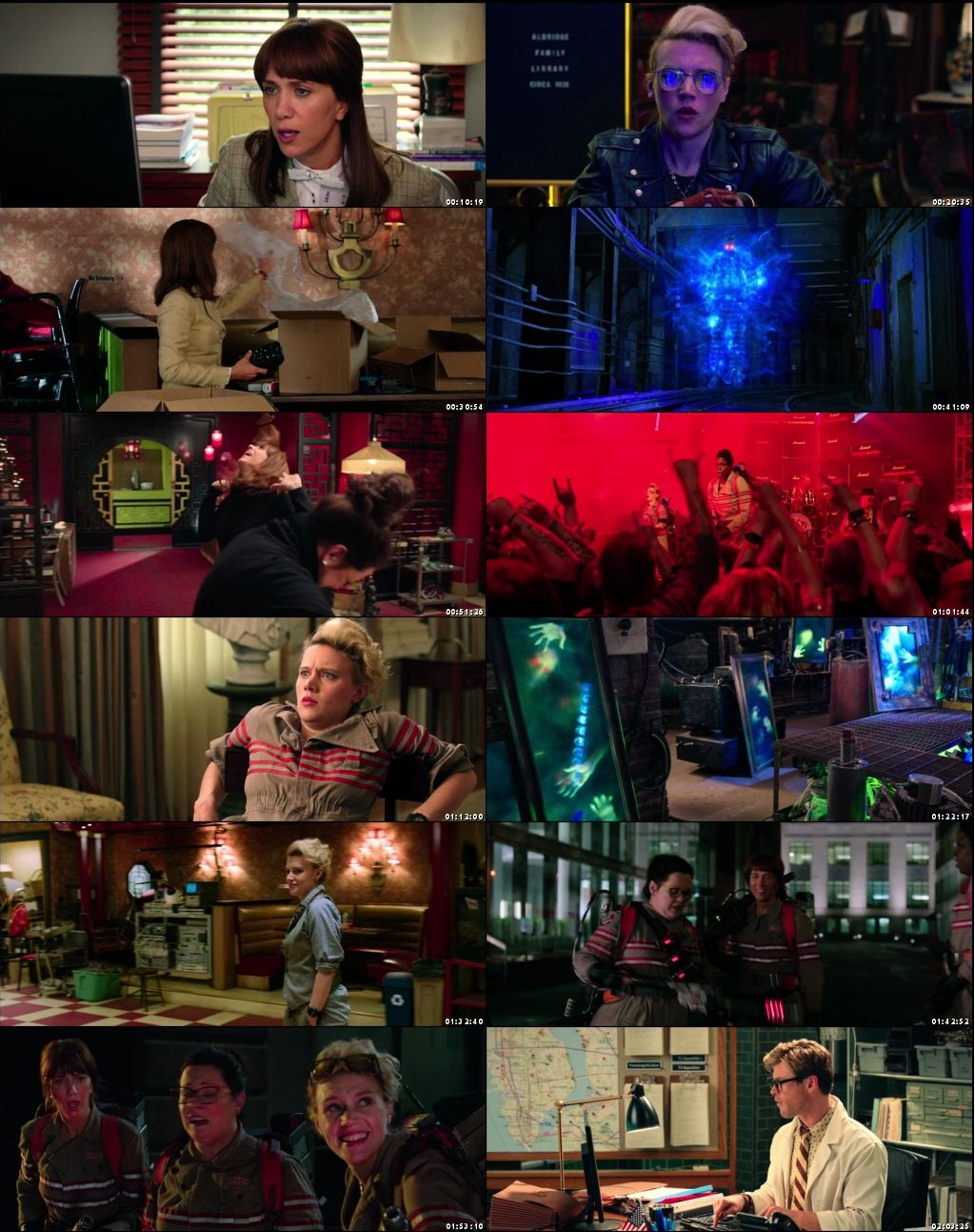 Ghostbusters (2016) Movie Hindi Dual Audio