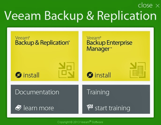 Veeam Backup Free Edition : Installation , Configuration