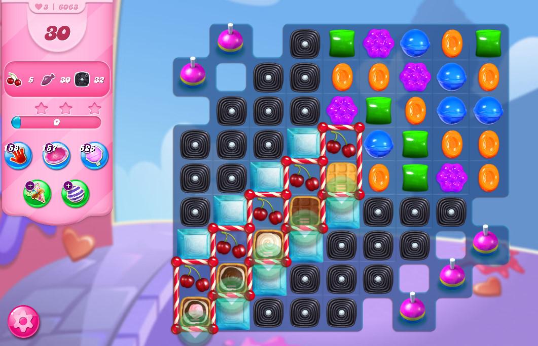 Candy Crush Saga level 6063
