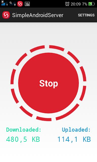 Menggunakan Simpel Server dan Internet Gratis Simple Server Android 2019