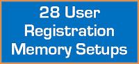 Kawai ES920 Registration Memories