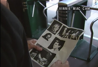WCW Slamboree 1998 Review - WCW security study pictures of Vince McMahon and WWF Superstars