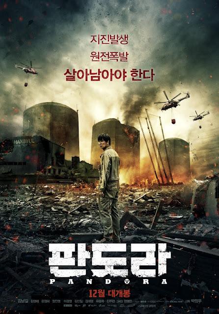 menceritakan tentang bencana tak terduga di sebuah kota kecil yang diakibatkan dari gempa  Film Korea Pandora Subtitle Indonesia
