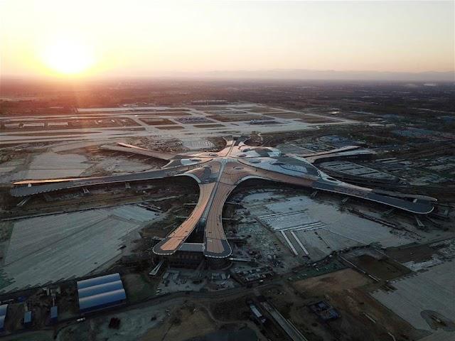 Hoàn thành xây dựng sân bay quốc tế Bắc Kinh