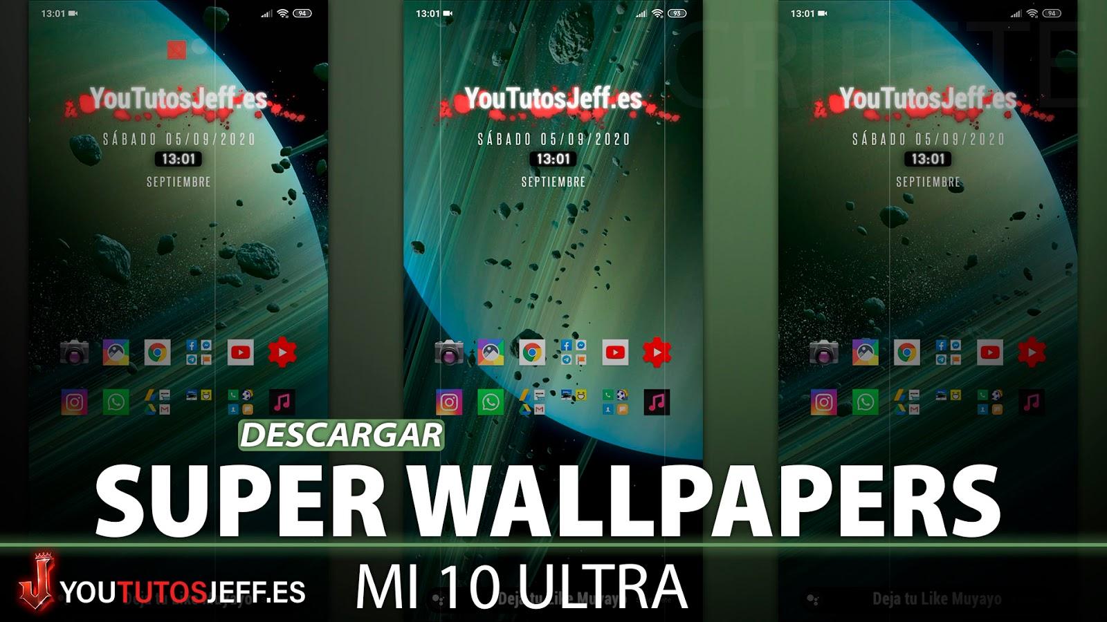 Como Descargar Super Wallpapers Xiaomi MI 10 ULTRA