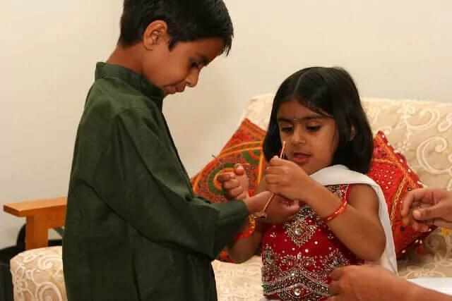 Raksha Bandhan Brother and Sister Photo 2020 | Rakhi Image