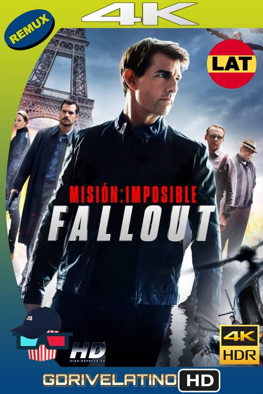 Misión imposible: Fallout (2018) BDREMUX HDR Latino-Castellano-Ingles MKV
