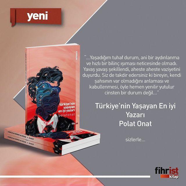 Türkiye'nin Yaşayan En İyi Yazarı Fihrist Kitap'tan Çıktı