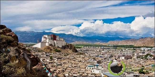 Shigatse di Tibet