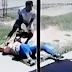 SÁENZ PEÑA VIOLENTA: BRUTAL ATAQUE A UNA MUJER PARA ROBARLE LA MOTO CUANDO IBA A TRABAJAR