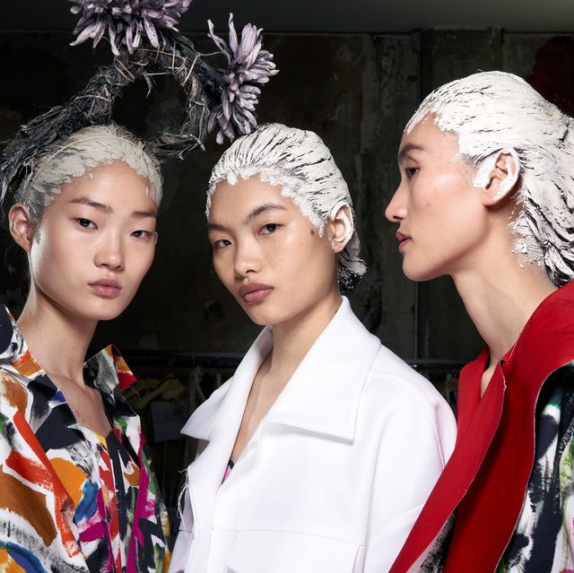 The best hair behind the scenes at Fashion Week SS20