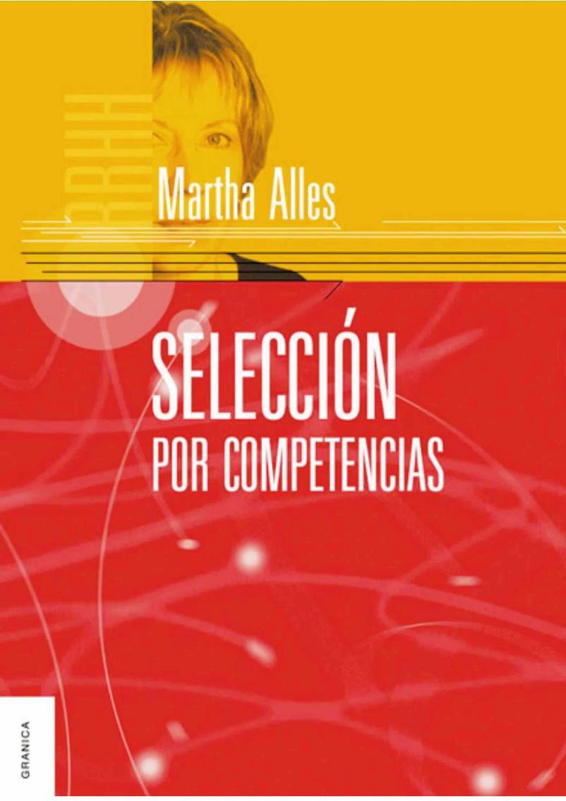 Selección por competencias – Martha Alles