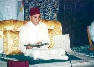 المغفور له الملك الحسن الثاني طيب الله ثراه في نهاية إحدى الدروس الحسنية الرمضانية لعام 1989 :