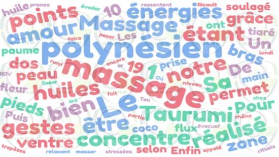 Massage à domicile polynésien Bouches du Rhône;