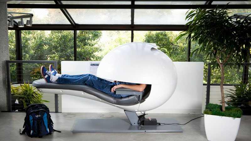 Tempat tidur di Googleplex