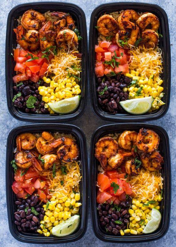 Shrimp Taco Meal Prep Bowls #healthyrecipeseasy #healthyrecipesdinnercleaneating #healthyrecipesdinner #healthyrecipesforpickyeaters #healthyrecipesvegetarian #HealthyRecipes #HealthyRecipes #recipehealthy #HealthyRecipes #HealthyRecipes&Tips #HealthyRecipesGroup  #food #foodphotography #foodrecipes #foodpackaging #foodtumblr #FoodLovinFamily #TheFoodTasters #FoodStorageOrganizer #FoodEnvy #FoodandFancies #drinks #drinkphotography #drinkrecipes #drinkpackaging #drinkaesthetic #DrinkCraftBeer #Drinkteaandread #RecipesFood&Drink
