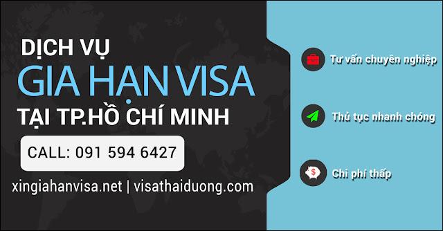 Dịch vụ gia hạn visa tại Sài Gòn
