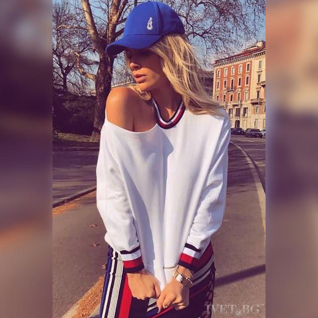 Μακρυμάνικη άσπρη γυναικεία μπλούζα SELESTIA