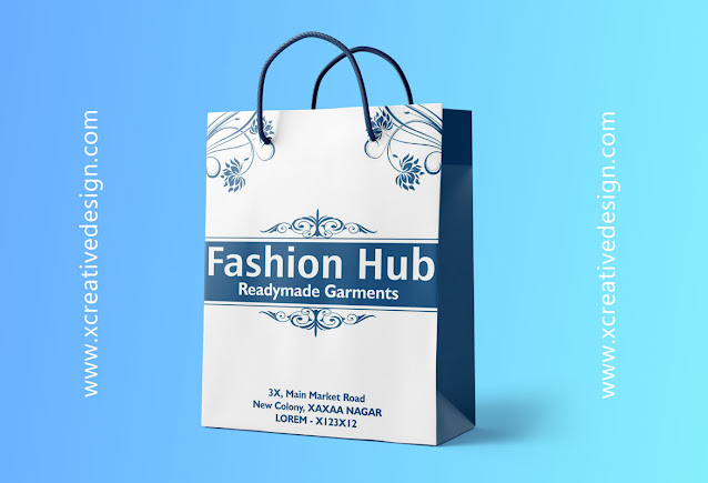 Carry Bag Design for Garments