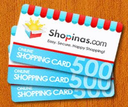 Air21 SHOPINAS e-Gift Certificates