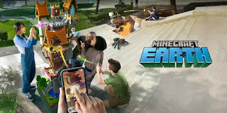 Minecraft Earth game android kekinian