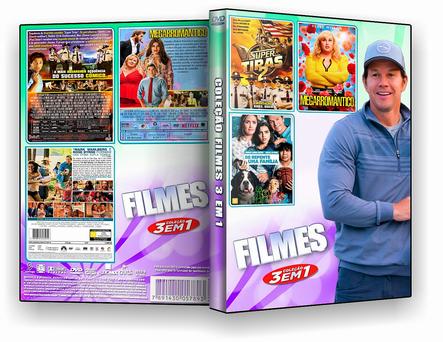 DVD COLEÇÃO COMEDIA 3X1 - ISO
