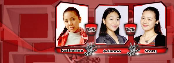 Katherine vs Stacy vs Arianna Team Bamboo Battles on 'The Voice Kids' Philippines