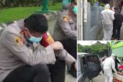 Polisi ini tak kuasa menahan tangis hingga nyawa Budi tak tertolong, Wakapolres: Mohon Maaf Bu