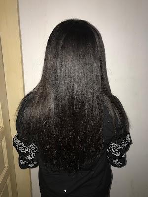 nabłyszczanie włosów