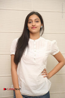 Tollywood Telugu Actress Mouryaani Latest Stills in Ripped Jeans at Intlo Deyyam Nakem Bhayam Movie Interview  0035.JPG