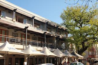 Straßen von Stellenbosch