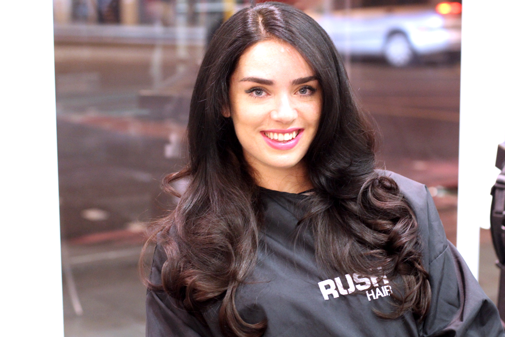 Emma Louise Layla at Rush Hair Salon, Kings Cross - London beauty blog