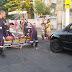 Mulher é atropelada por motociclista na tarde deste domingo no centro de Cajazeiras