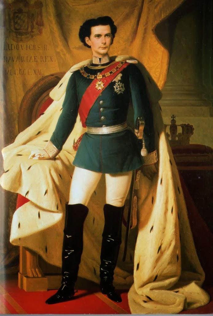 Rei Luís II/ Ludwig II da Baviera