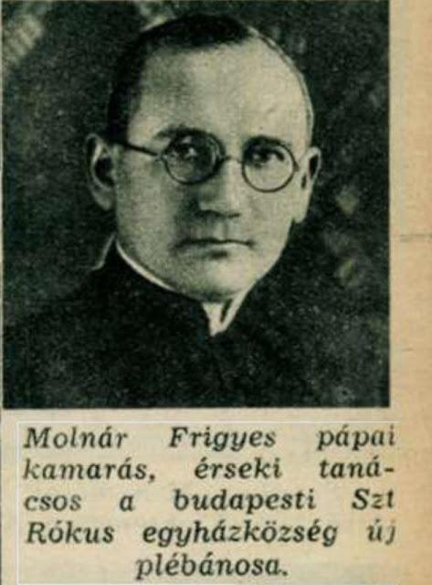 A Rókus papja is mentett zsidókat