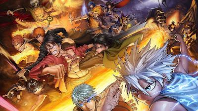 Atemu Bleach Crossover Dragonball Naruto