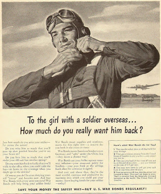 US War Bonds - How much do you really want him back?