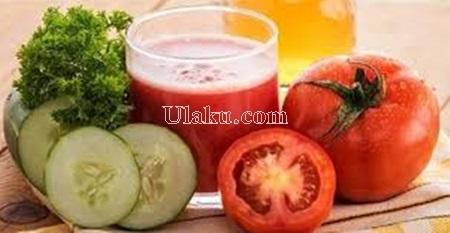 Jus Diet Tomat Campuran Mentimun