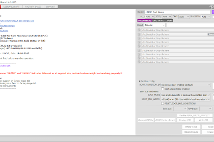 UFI Software version 1.4.0.1665
