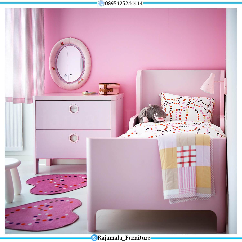 Tempat Tidur Anak Lucu Beauty Girls Pinky Color RM-0434