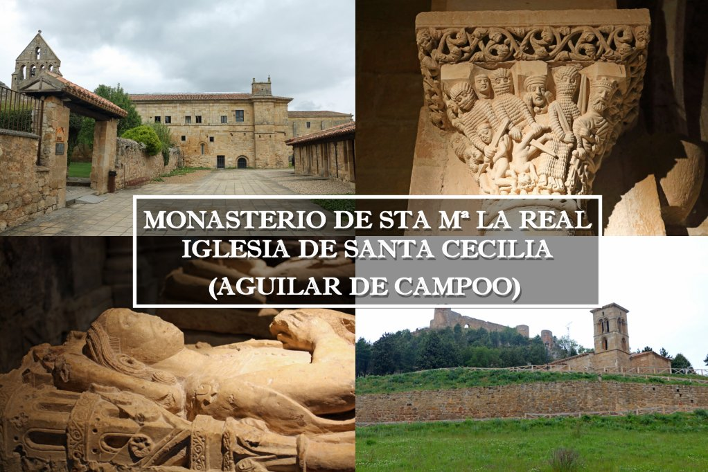 Sta Mª la Real y Sta Cecilia, románico de Aguilar de Campoo