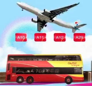 車票 Tickets : 新渡輪乘客 - 城巴機場快線來回車票優惠 (2013.06.17)