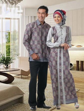 Baju Batik Couple Lengan Panjang